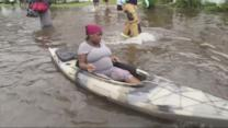 Pregnant Woman Goes Into Labor During Canoe Rescue