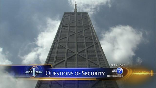 I-Team: Half-million visitors to Hancock Building go unscreened yearly