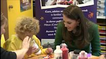 Princess Kate Bonds With Kids at Children's Hospice