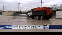 Road Crews Preparing Roads For Icy Weather