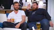 A teaser of tonight's Celebrity Gogglebox Stand Up To Cancer special on Channel 4