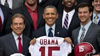Roll Tide! Alabama Visits White House Again