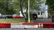 Pregnant Woman, Unborn Child Killed In Bay Shore