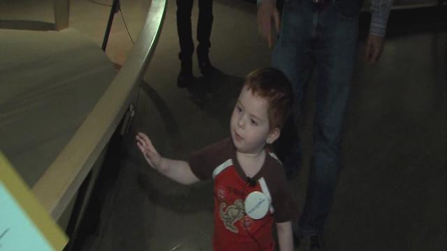 Make-A-Wish grants trip to a dinosaur museum for 4-year-old liver transplant recipient
