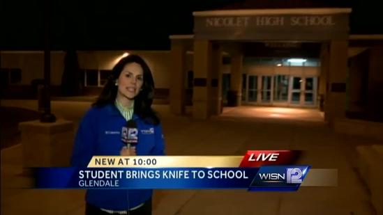 Officer holds Nicolet High school student at gunpoint