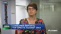 Consumer Reports' tops sprays against Zika