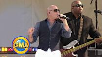 Pitbull to Rock Times Square after 'American Music Awards'