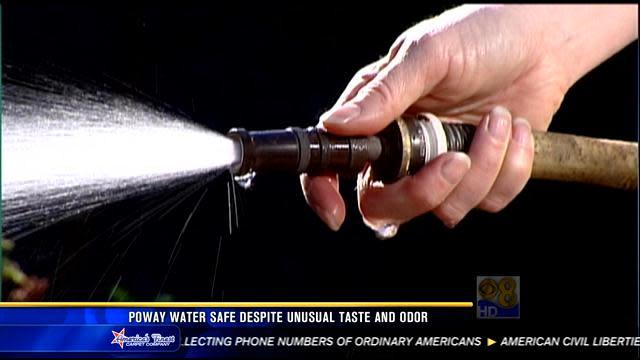 Poway water safe despite unusual taste, odor