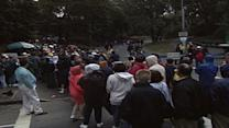 From the archives: Massive crowds come see Pope John Paul II celebrate Mass in Central Park