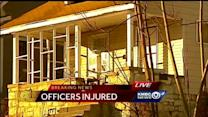 2 officers hurt trying to take man into custody