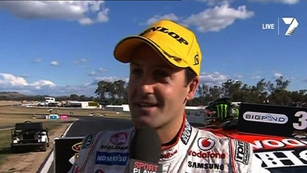 Whincup puts celebrations on ice
