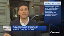 Daily fantasy sites battle in court
