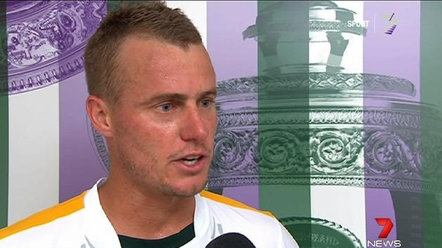 Hewitt storms into second round