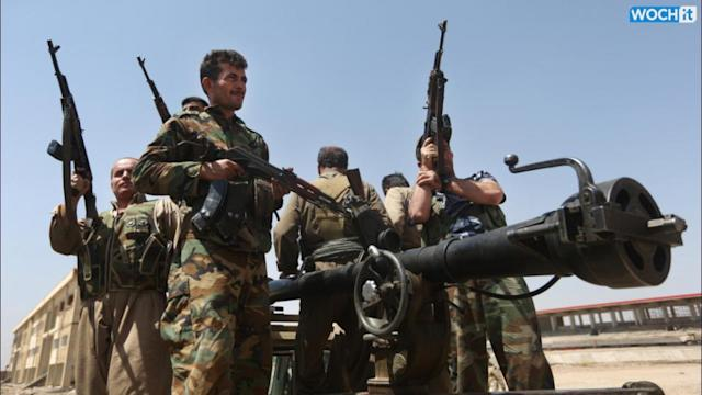 Kurdish Forces Say They Urgently Need More Weapons