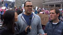 Men Show Up For Women's March on Washington