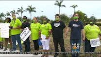 South Florida Walmart Workers Call For Higher Wages