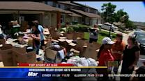 Homegrown relief effort gets moving