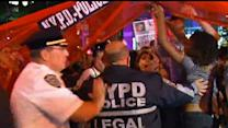 Raw: Vigils Around Nation for Ferguson Shooting