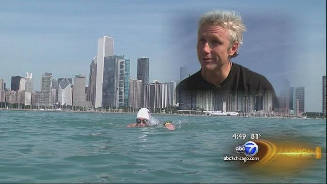 Nial Funchion to swim 24 miles off California coast to benefit families of fallen police officers