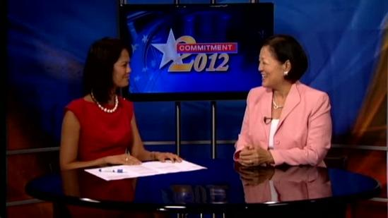 Hirono talks about the final days in the Senate race