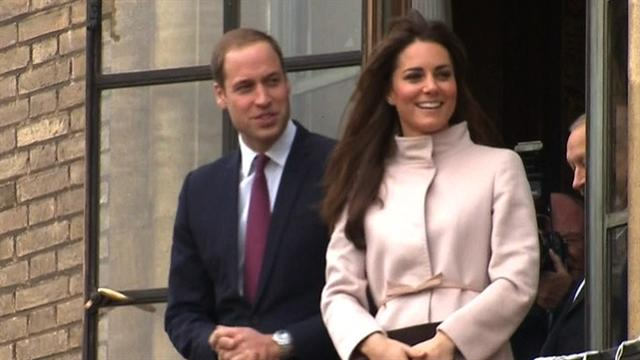 Prince William and Kate expecting a baby