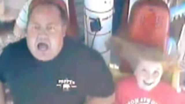Father's Wild Amusement Park Ride