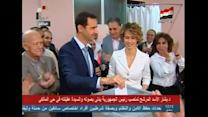 Syrian President votes in contentious election