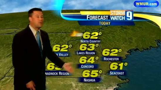 Thursday morning forecast