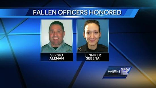 Fallen officers honored at ceremony in Washington D.C.
