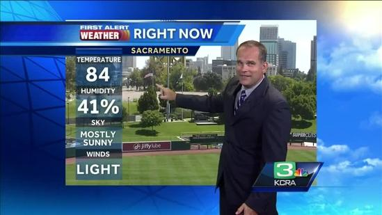 Dirk Verdoorn's Thursday NorCal Forecast 7.31.14