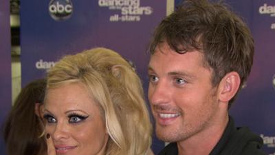 'Dancing With The Stars: All Stars' Premiere -- Pamela Anderson Last On The Scoreboard