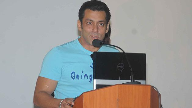 Salman Khan At 2nd Anniversary Of Cochlear Implant Programme