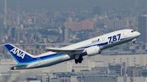 Raw: Japan's ANA Test-flies 787