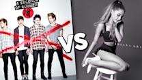 Ariana Grande VS. 5SOS: Top Summer Album - What You Need to Know