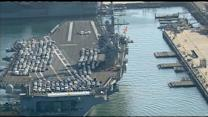 Bonus Video: USS Ronald Reagan returns to Coronado
