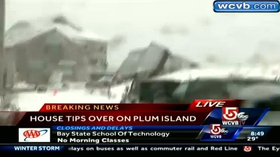 Plum Island resident talks about house collapse