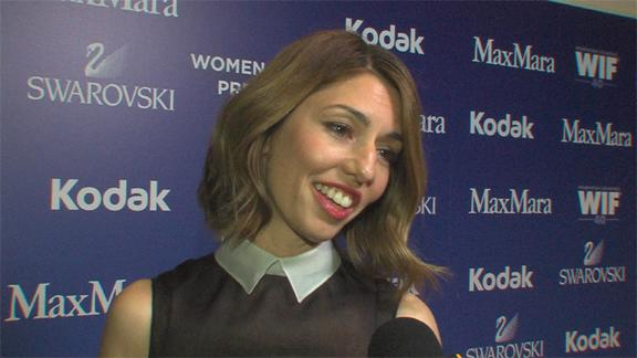 Sofia Coppola Talks Being Honored At The 2013 Crystal + Lucy Awards