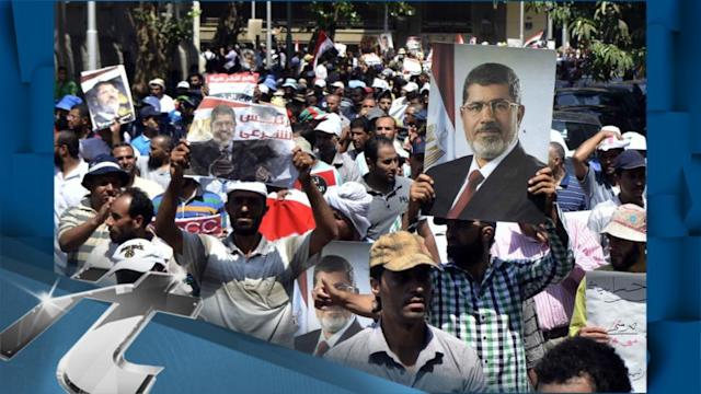 Politics Breaking News: Fears of New Violence in Egypt as E.U. Diplomat Visits