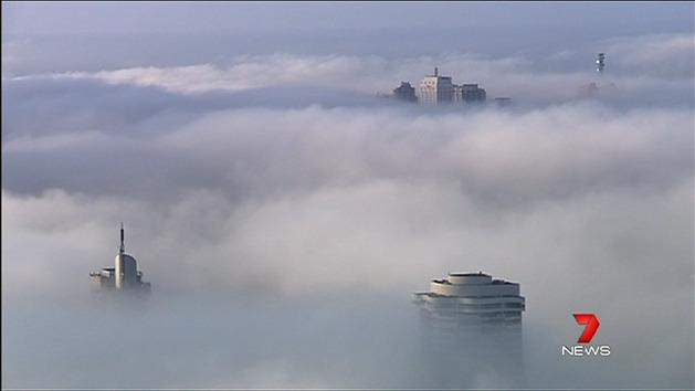 Sydney's second bout of fog