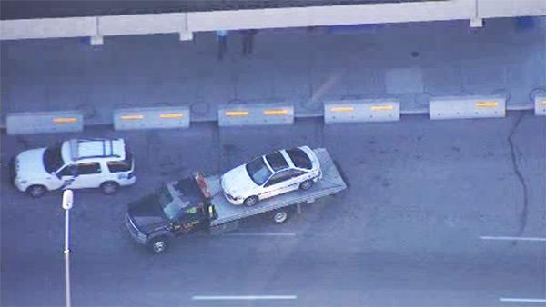 Police chase ends with arrest at Philadelphia International Airport