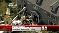 Workers Briefly Trapped After Trench Collapses In Westchester County