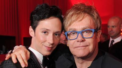 Elton John: Johnny Weir Is A 'Hero' Of Mine