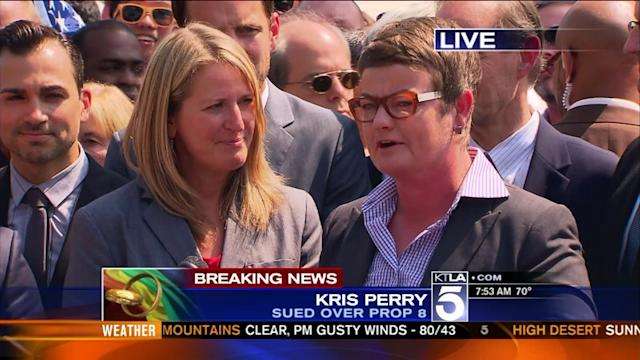 Prop. 8 Plaintiff Kris Perry: `Now We Will Be Married and We Will Be Equal`