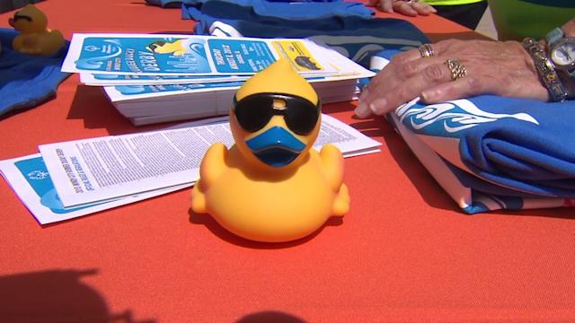 Rubber Duck Derby Supports Special Olympics