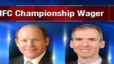 Congressmen Place Wager on NFC Championship Game