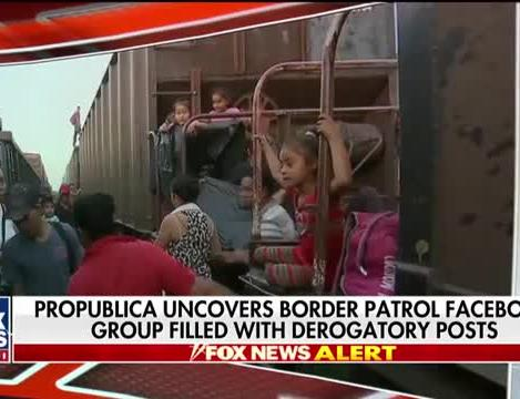 ProPublica uncovers Border Patrol Facebook group filled with derogatory  posts