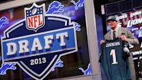 Eagles select Oklahoma OT Lane Johnson in NFL Draft