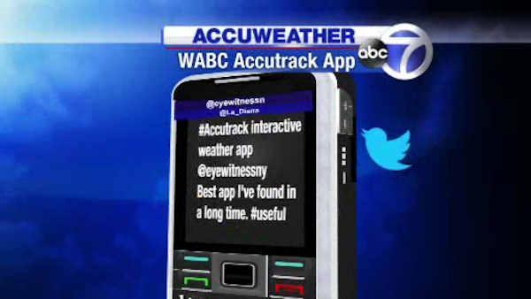 Track Andrea with the new AccuWeather app!