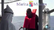 Hundreds of Migrants Recused by the Italian Navy in the Strait of Sicily