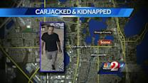 Search on for man who carjacked, kidnapped woman